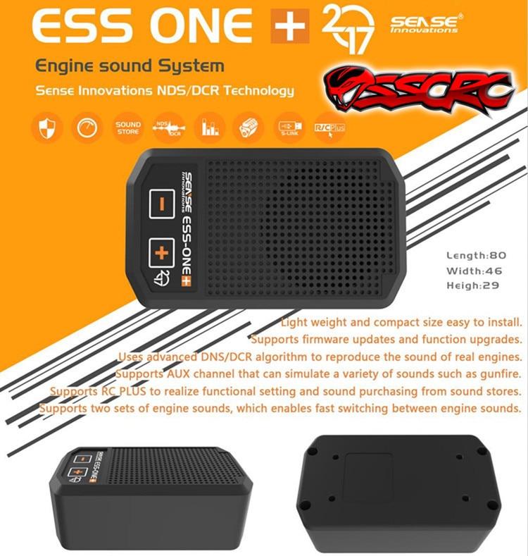 2017new Arrivals ESS-ONE plus ENGINE SOUND SYSTEM Real Engine Sound Simulator 1:10 1:8 1:5 RC truck Rock Crawler Monster bajaCar enlarge