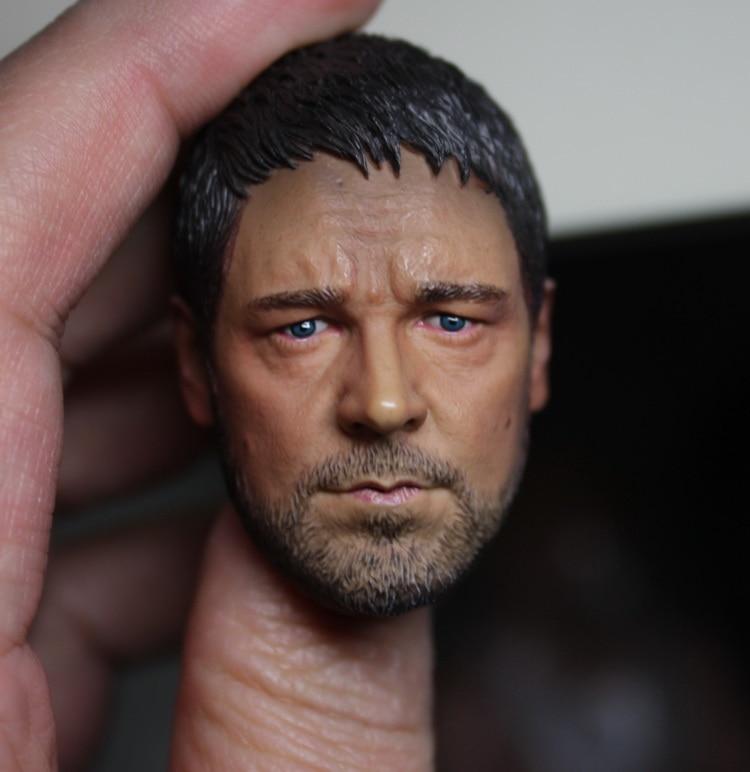 Figura DE ACCIÓN DE gladiador Russell Ira Crowe cabeza a escala 1/6 esculpir para juguetes calientes entebay Body en stock
