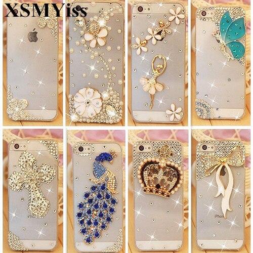 XSMYiss For Huawei Honor 8 9 10 20 Lite V20 7X 8X 9X Luxury Rhinestone Diamond Case For Huawei Honor Nova 3 4 5 6 Back cover