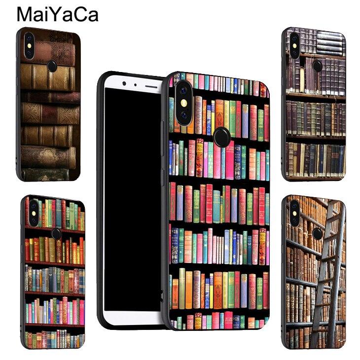 Maiyaca bookworm do vintage capa para xiaomi redmi nota 9 8 pro k30 7 9 s 8 t 7a 8a mi 9 t 10 pro 9 lite a3 max3 mix3