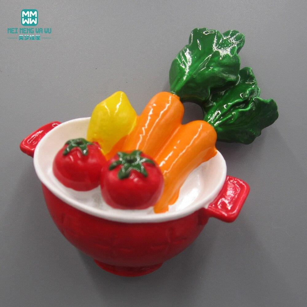 Mini jouet de nourriture de légume de tomate de simulation approprié aux accessoires de maison de poupée de BJD  SD