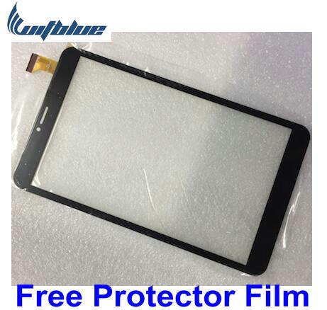 "Película protectora libre de Witblue + nuevo panel de pantalla táctil para tableta de 8 ""DIGMA PLANE 8713 T 3G PS8106PG piezas del Sensor de cristal del digitalizador"