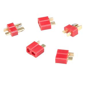 20 Pair/LOT New Deans style T Plug Nylon T Connector Golden T plug T Plug For RC helicopter 40% off