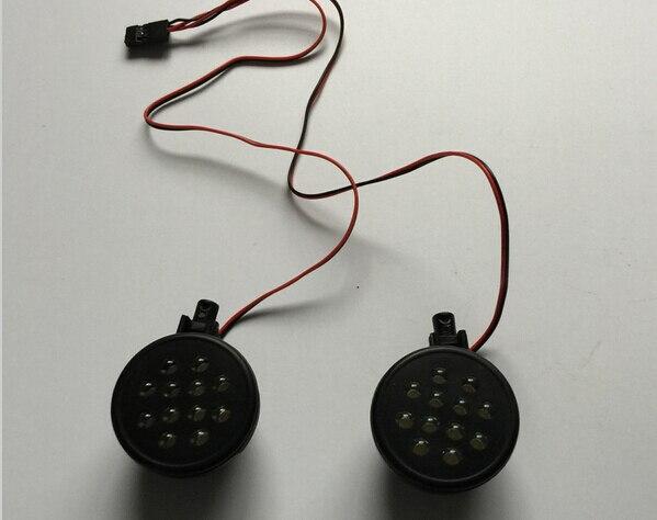 Светодиодное освещение Baja 5B, приемник с прямой вставкой для 1/5 HPI baja 5B, запчасти KM ROVAN