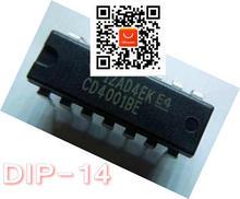 CD4001 CD4001BE CD 4001BE DIP-14 nouveau Original 100 PCS/LOT