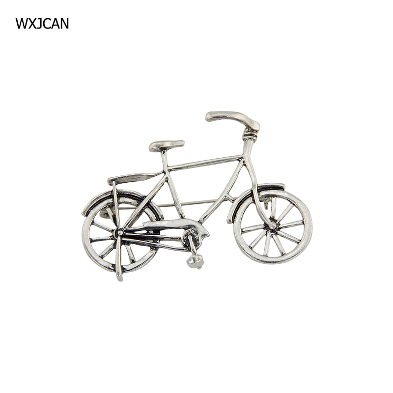 WXJCAN bike brooch pins men and women  Sporty casual metal bicycle booch jewelry broche brosche broszka B5162