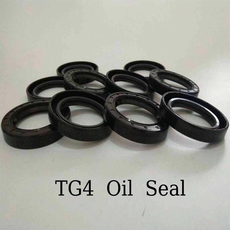 TG4 sello de aceite de goma de nitrilo Diámetro Interno 200mm anillo de tres labios Junta Radial de acero de resorte de eje rotativo