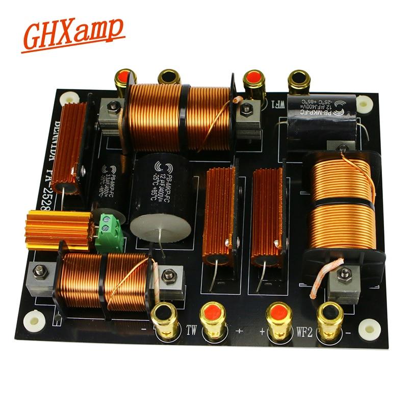 Ghxamp 1500W التريبل + المزدوج باس كروس 2200Hz PA2528 رئيس كروس ل 12