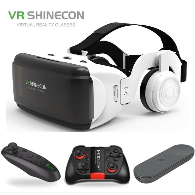 Original Realidad Virtual 3D Caja de gafas estéreo VR Google Cartón Casco...