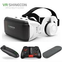 Оригинальный виртуальный 3D-чехол виртуальной реальности для смартфонов с Google, каска для IOS, Android, Bluetooth Rocker