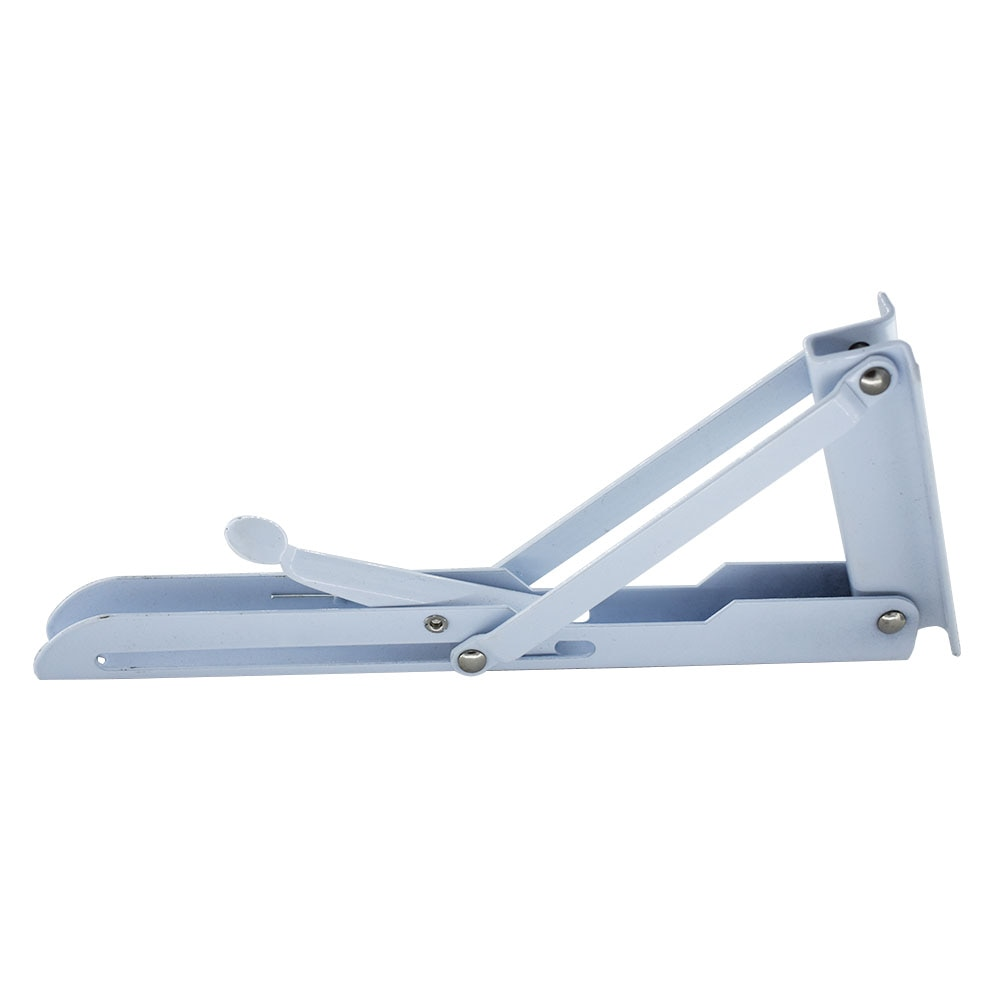 """16 """"Cold-rolled Steel Suporte de Prateleira de Dobramento 40 KG Força de Rolamento 16 Polegada Dobrar Triângulo Suporte Suporte 150x400 milímetros"""