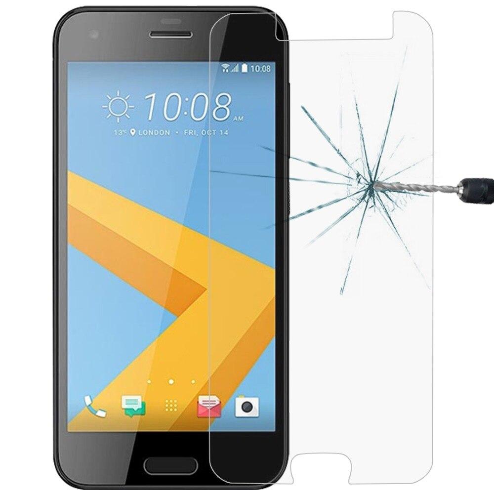 0,26mm 9H 2.5D templado protector de pantalla para teléfono móvil de cristal para HTC uno A9s/U11 + Smartphone película