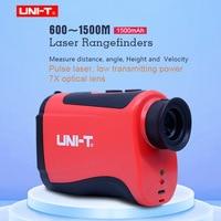 Teslecope Laser Rangefinder UNI-T LM600 LM800 LM1000 LM1200 LM1500 monocular telescope hunting outdoor speed tested lase