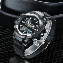 NEW OHSEN Man Watch Men Waterproof Sport Digital Wristwatch Shock Resistant Men Analog Quartz Watch Hombre Relojes Drop shipping