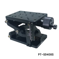 PT-SD408 Precision Manual lift Z-axis Lift Lifting Platform Plus Ruler 60mm Travel