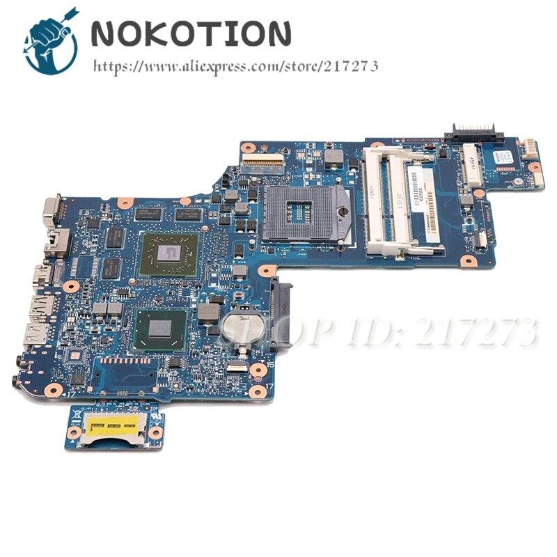 NOKOTION nuevo H000052840 para Toshiba Satellite C870 L870 L875 placa base de computadora portátil PGA988B SLJ8E HM76 DDR3 HD7610M tarjeta de Video