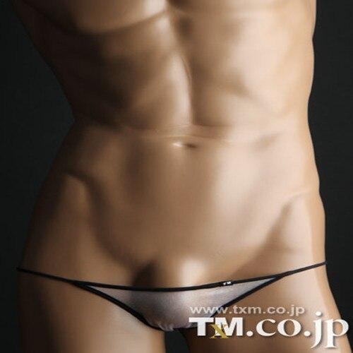 Mele TM ultra-bajo nivel Busana seksi silkye celana gay celana pakaian Dan G Tanga ropa interior sexy gay lacayo