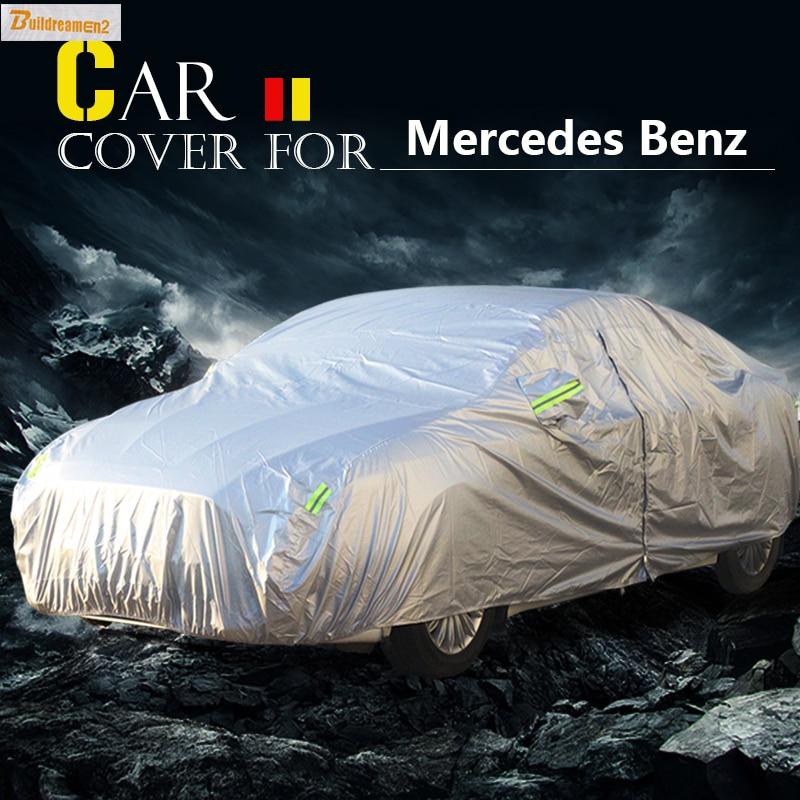 Funda Anti-UV para coche Buildreamen2, carcasa resistente a los arañazos y a prueba de agua para Mercedes Benz Clase B B150 B170 B180 B200