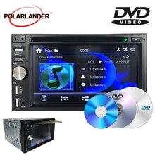 Mp3 hd 6.5-inch relógio de vídeo função de advertência 1080 p formato de vídeo bluetooth tela grande fm 7-color backlight duplo-fuso