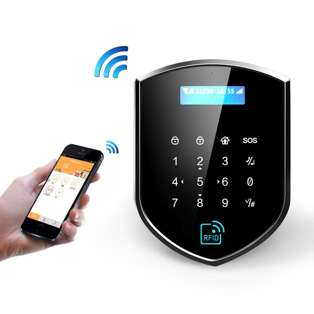 Wolf-Guard 3G GSM 2.4GHz Wifi Smart Wireless Home Security Burglar Alarm System Door Sensor PIR Motion Detector Remote Control enlarge