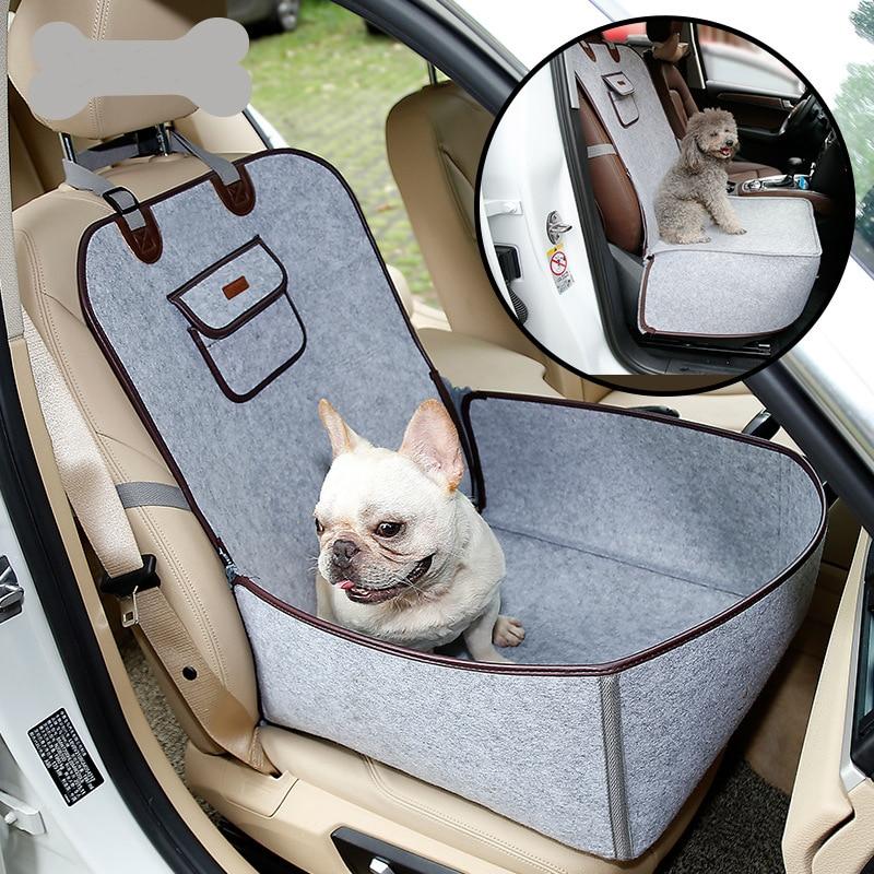 Bolsa impermeable para perro, portador de coche para mascotas, cubierta de asiento de coche para perro, bolsa de transporte para perros pequeños, viaje al aire libre