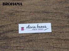 Étiquettes logo personnalisées/étiquettes de marque   Étiquettes en tissu faites à la main, étiquettes pour vêtements, étiquettes tricotées personnalisées (TB215), 128