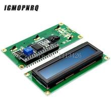10 Uds LCD1602 + I2C 1602 serie de fondo azul pantalla LCD 2560 UNO AVR CII/I2C
