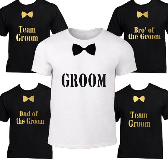 Personalized groom Groomsmen wedding t shirt tank tops singlets Bachelorette Party vests gifts favors