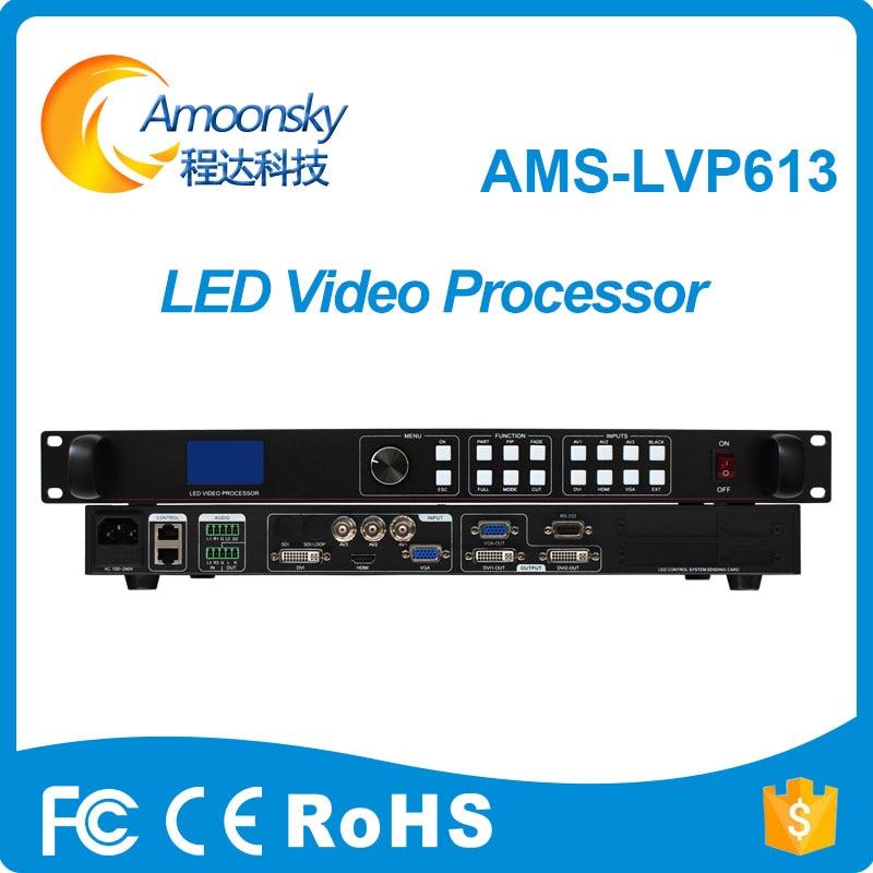 Melhor preço AMS-LVP613 display led controlador de tela LED de vídeo switcher original substituir LedSync850M videowall processador de vídeo