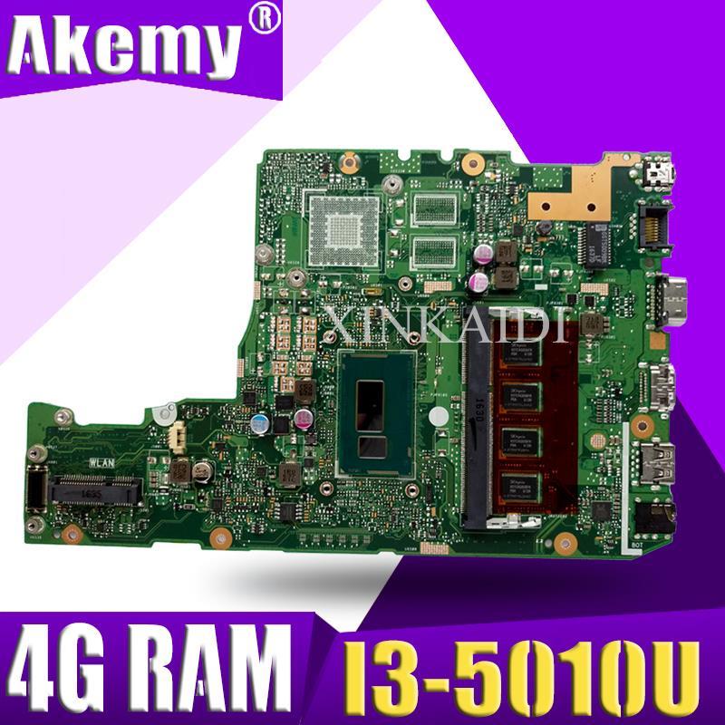 Placa base X302LA para ASUS X302LJ X302L con i3 4G RAM tarjeta gráfica integrada DDR3 USB3.0