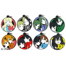 MekakuCity Acteurs Kido Seto Kano Trouwen Mom Ene Shintaro Hibiya Action Figure Anime Model Sleutelhanger Hanger Kerstcadeaus 6cm