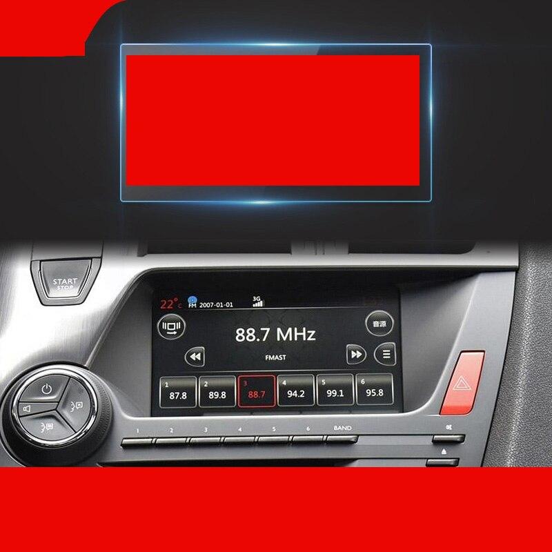 Lsrtw2017 pantalla de navegación de coche templado película protectora película para ds4 ds5 ds6