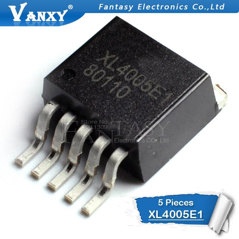 5 шт. XL4005E1 TO263-5 XL4005 TO263 4005E1