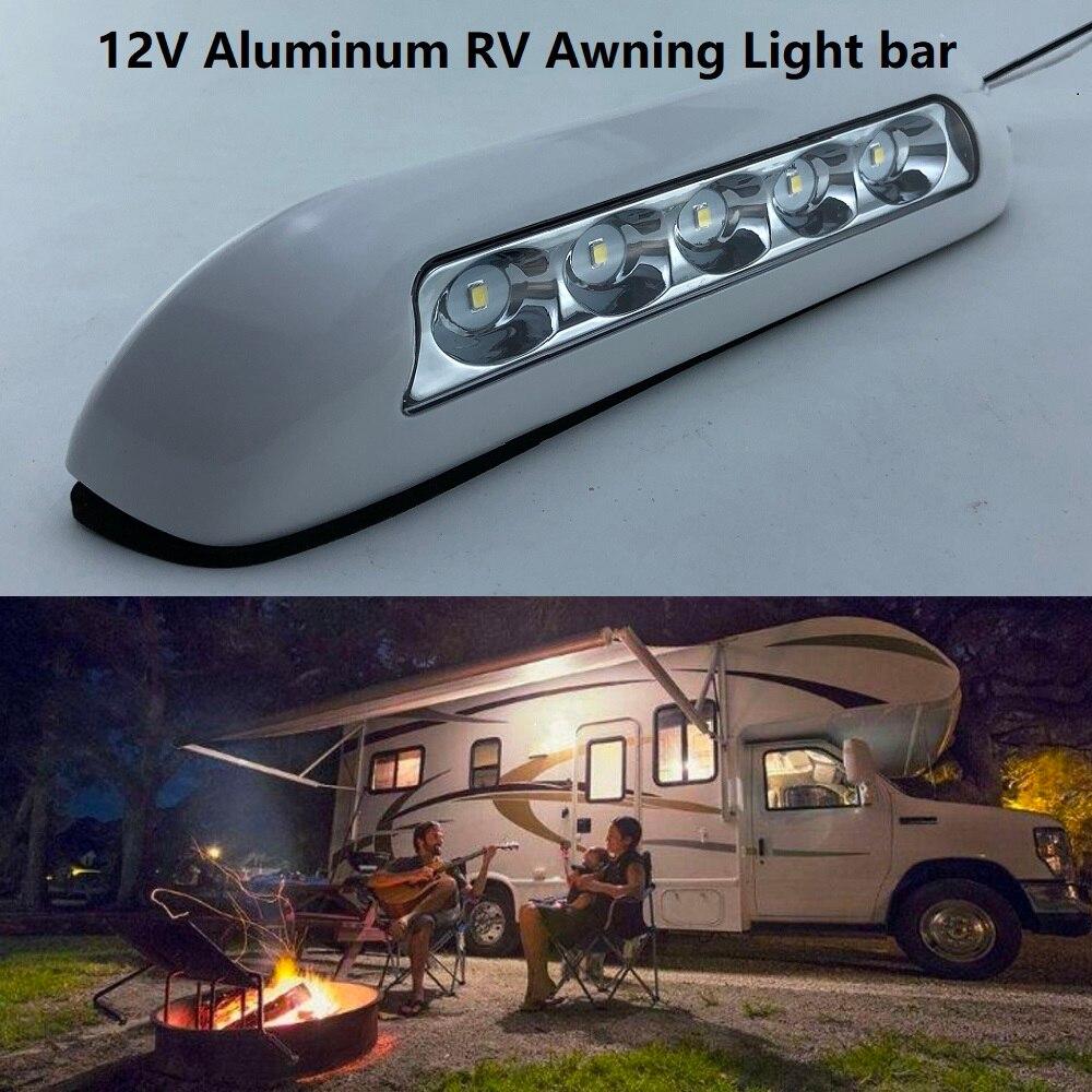 6500k 12v LED Awning Lights Waterproof RV Van Camper Trailer Heavy duty off road Motorhome Caravan Exterior Camping Bar Lamps