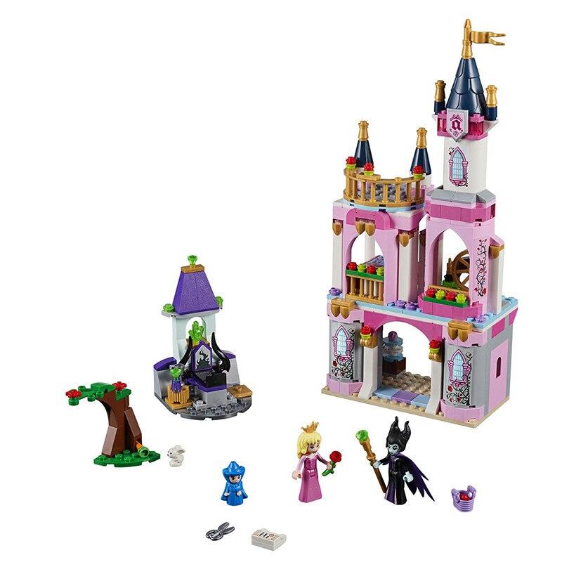Freunde Prinzessin Dornröschen Märchen Burg Bausteine Kit Bricks Classic Mädchen Modell Kinder Spielzeug Für Kinder Geschenk