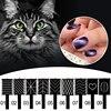 9 Stks/set Cat Eye Magneet Pen Nail Art Apparatuur Polish Gel Tekening Verticale 3D Magneet Stok Cat Eye Nail Manicure tool