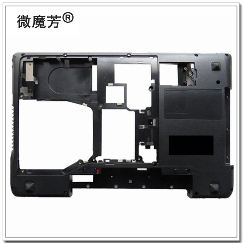 Новый нижний чехол для ноутбука Lenovo Y570 Y575 Нижний Базовый чехол для ноутбука с ТВ черный AP0HB000800