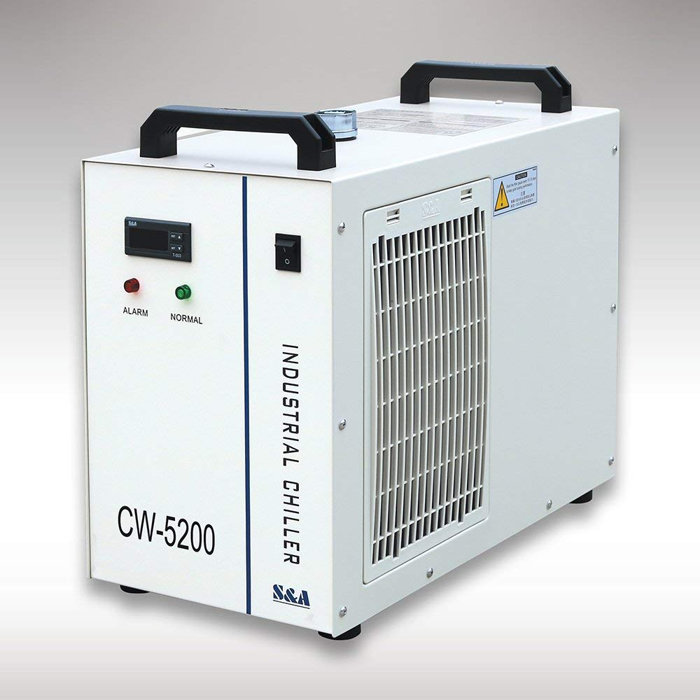 CW5200 CO2 Laser Tube Water Chiller for Laser Engraving Cutting Machine enlarge