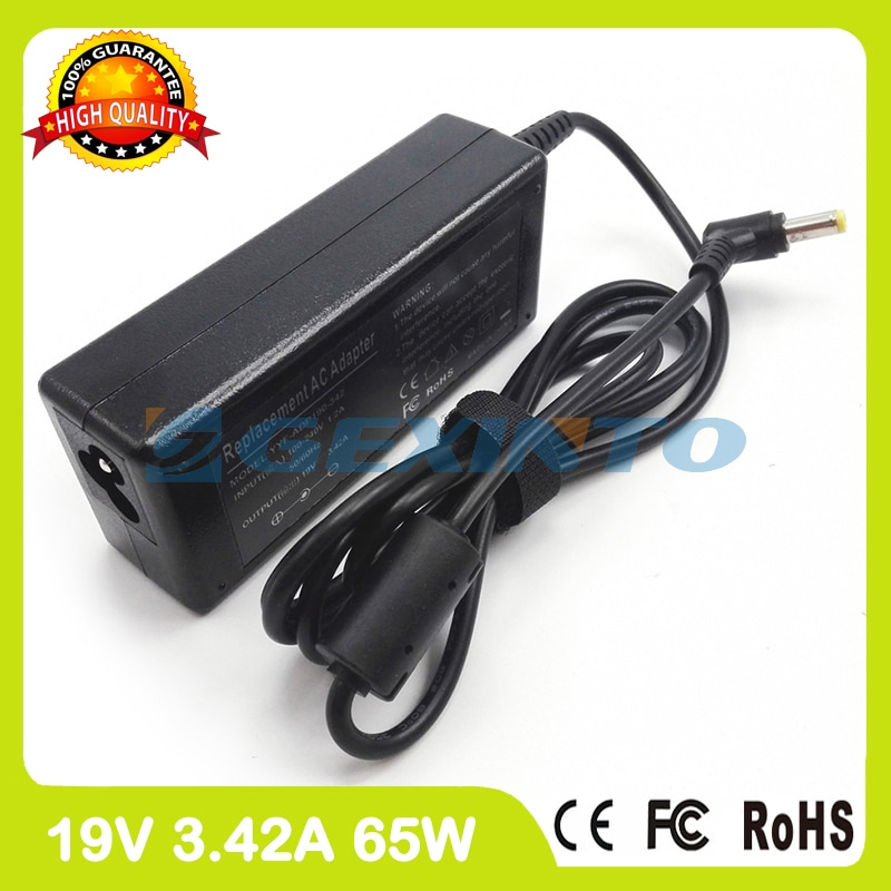 19V 3.42A 65W laptop charger adapter ADP-65WH AB for asus F6Ve F80M K40AF P80 K42F K43J K45V K450LA K84LY L3420 L84L M24A