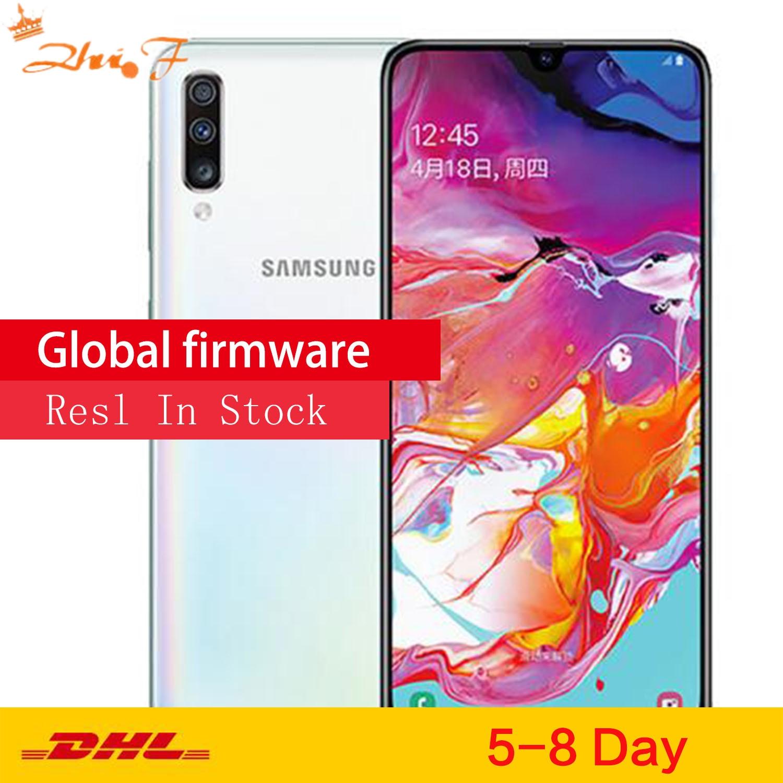 Перейти на Алиэкспресс и купить Мобильный телефон Samsung Galaxy A70 /a7050, 6 ГБ/128 ГБ, большой экран, сканер отпечатка пальца, двойная карта