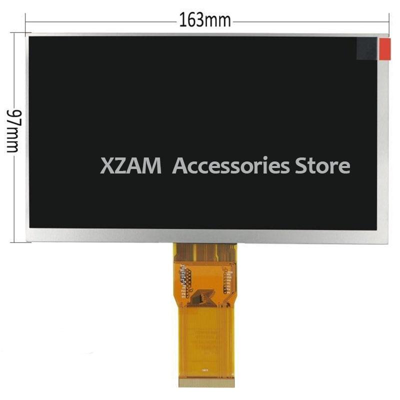 Nueva pantalla LCD de 7 pulgadas para JB07001CD2FPCA3 LCD panel de cristal para pantalla reemplazo envío gratis 164*97mm