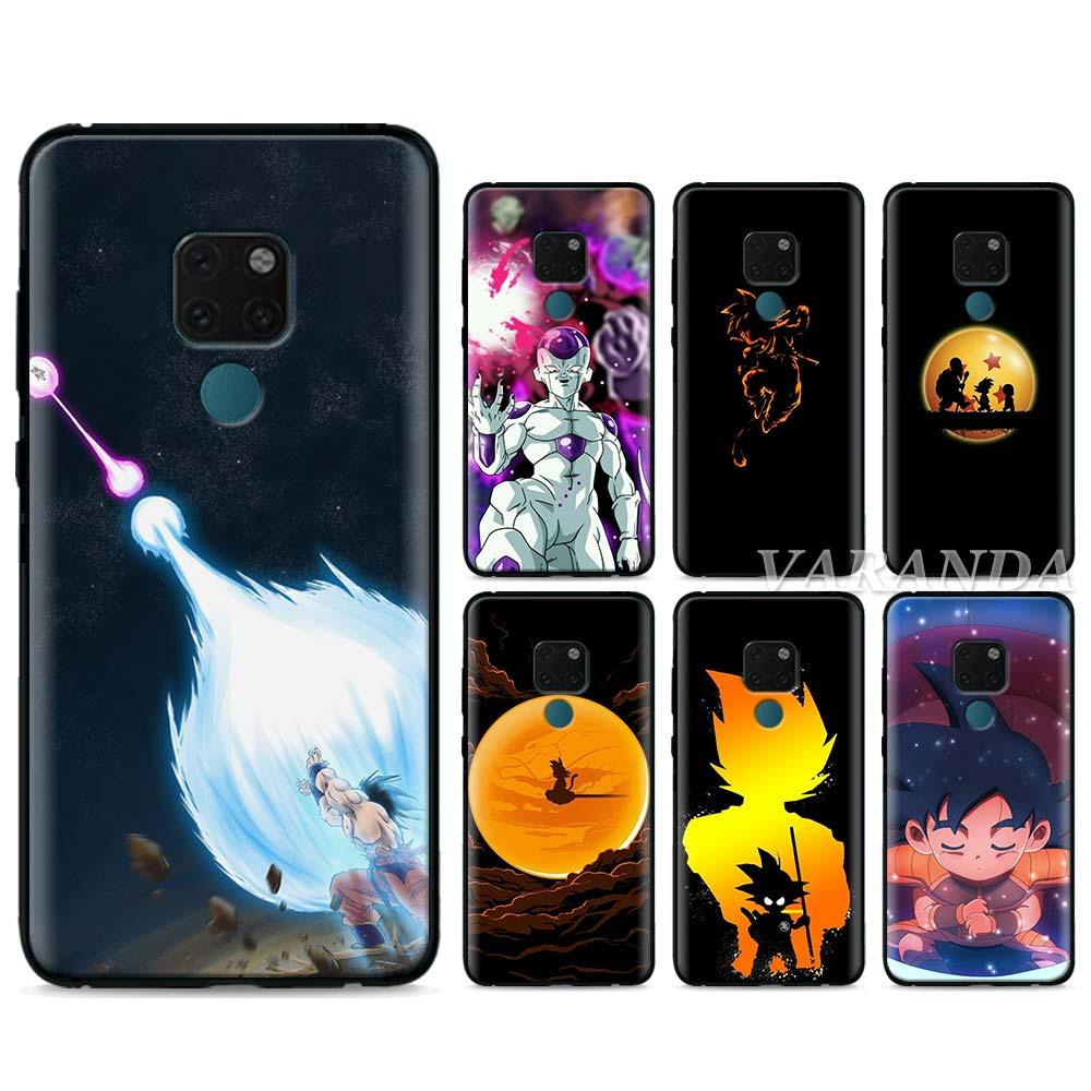 Funda blanda de TPU para Huawei Mate 20 Lite 10 20 Pro P20 Lite P30 Pro P Smart Y9 2019, funda de silicona DBZ de Dragon ball anime