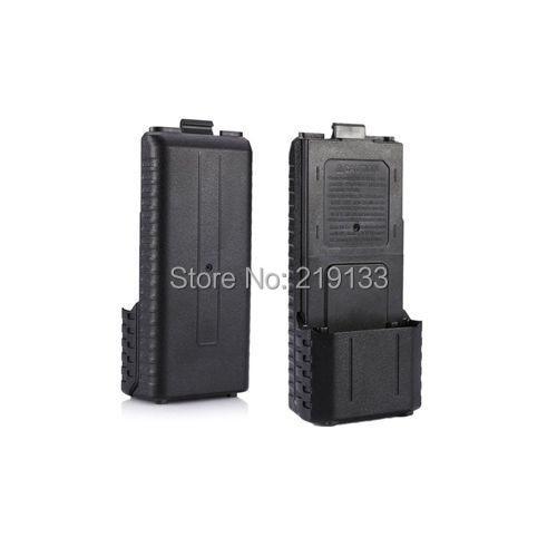 De BaoFeng uv-5r uv 5r walkie talkie caja de pilas AA para 2 radio baofeng CE FCC barato UV5R UV5RB uv 5 bf f8 uv-8hx sobre las th-f8