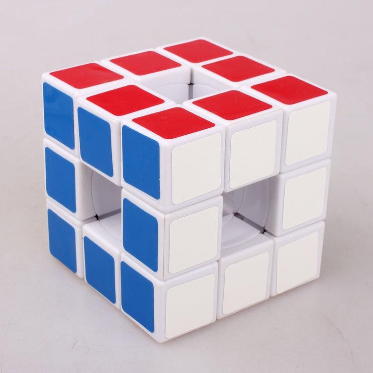 Cubo hueco LanLan 3x3x3 cubo mágico rompecabezas Juguetes