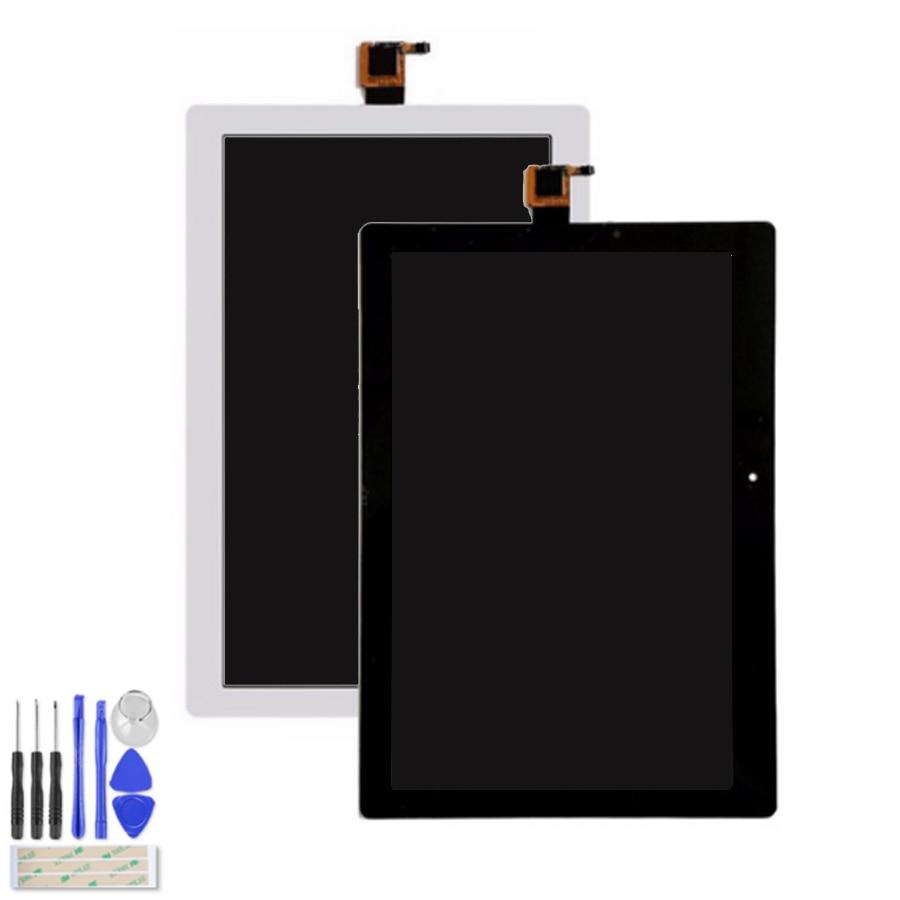 Pantalla de 10,1 pulgadas para Lenovo Tab 2, A10-30 YT3-X30 X30F, TB2-X30F, a6500 tb2-x30l, con Sensor de Panel de pantalla LCD de 1280x800