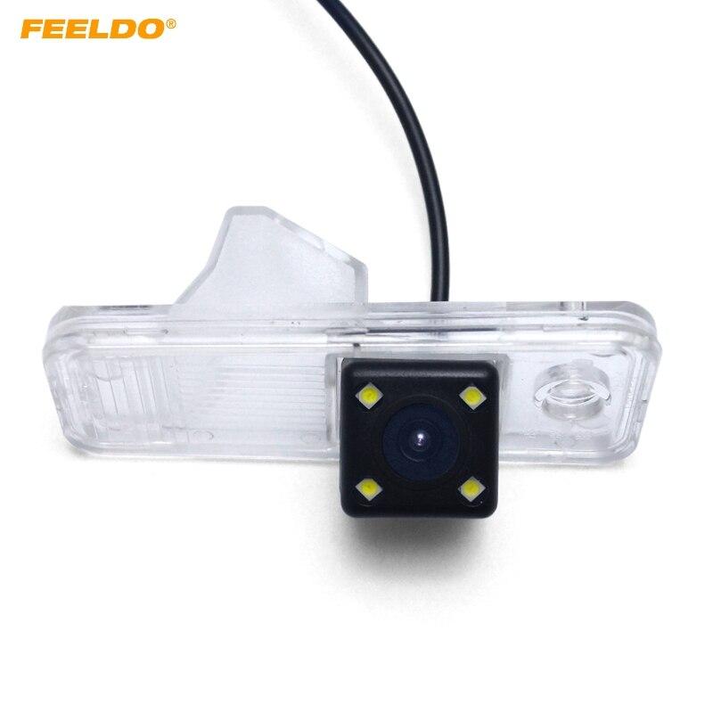FEELDO 1 zestaw samochodów Backup widok z tyłu kamery z LED dla Hyundai ix25 2014 ~ obecny Nigth Vision cofania Park # AM5274