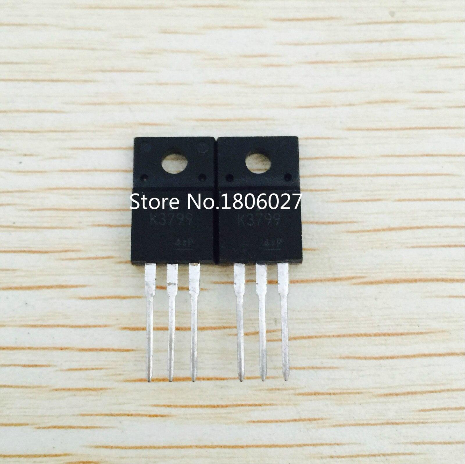 Enviar 20 piezas K3799 2SK3799 TO-220F 900V 8A el efecto de campo de tubo