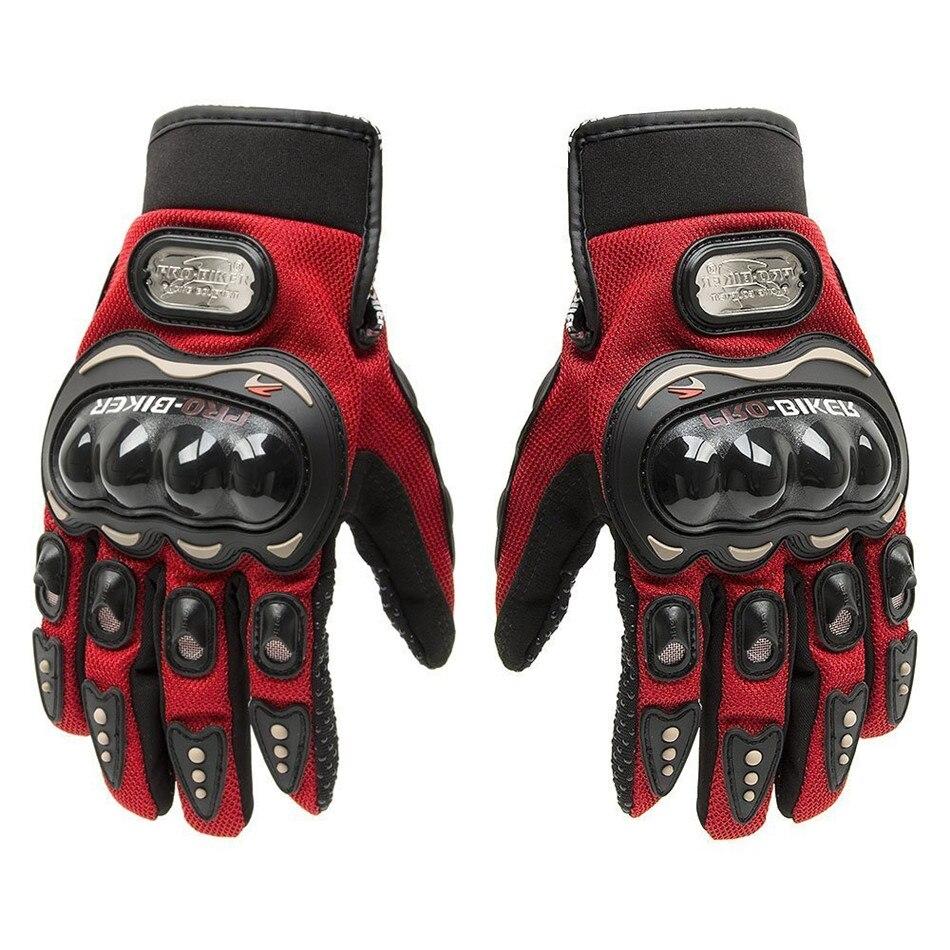 Горячая Распродажа! Мотоциклетные Перчатки с пальцами, летние зимние перчатки для мотокросса, из кожи, гоночные перчатки