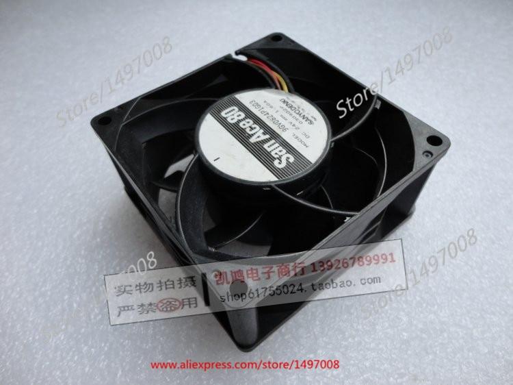 SANYO DENKI-9GV0824P1G03 24V DC 1.60A 80x80x38mm ventilador de refrigeración de servidor