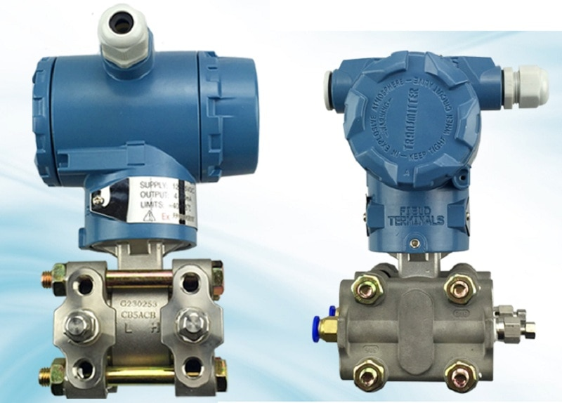 Transmissor de pressão capacitivo do protocolo de hart do transmissor 4-20ma da pressão do transmissor de pressão 3051 diferencial